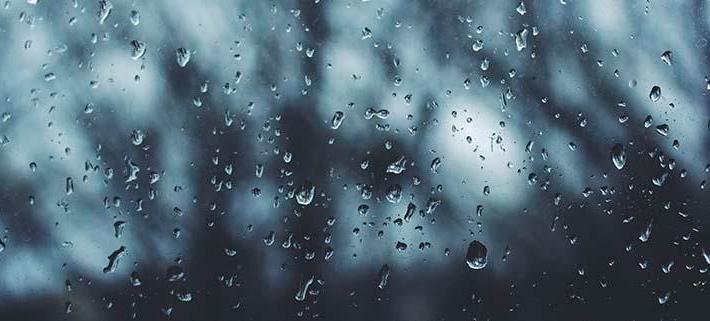 Aviso À PopulaÇÃo Chuva E Vento Medidas Preventivas