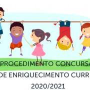 Procedimento Concursal Atividades Enriquecimento Curricular (aec's) 2020 2021