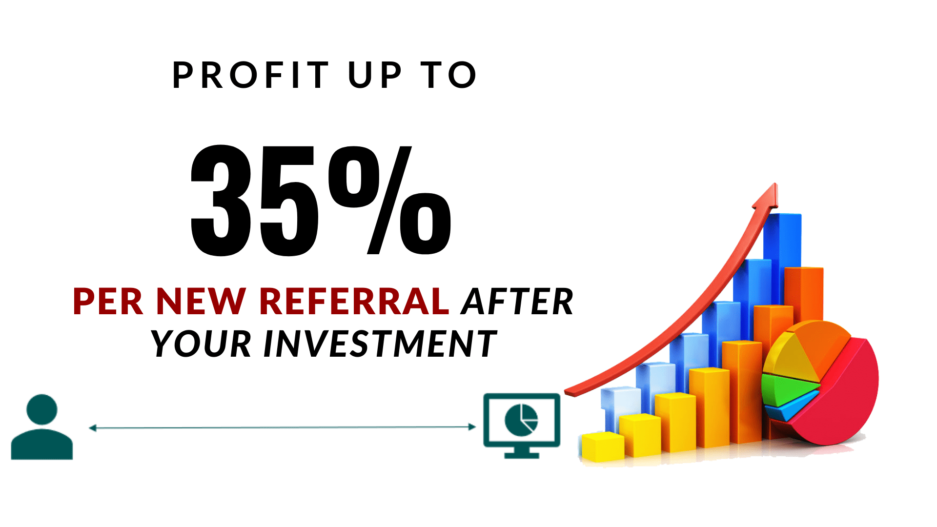 Earn money from referrals