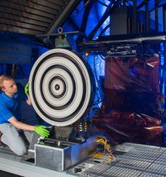 thruster for mars mission breaks records the michigan engineer news center [ 2400 x 1600 Pixel ]
