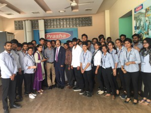 BBA Students Visit to Prasha Technolgies Limited Manesar - Picture 2