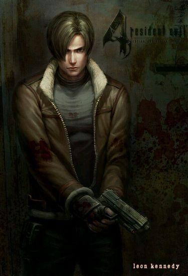 أجمل صور لي ليون ريزدنت ايفل 4 Resident Evil Amino