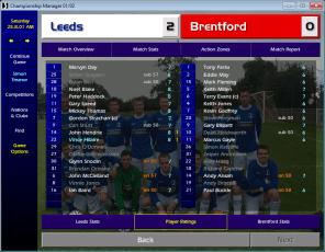Leeds v Brentford FLC