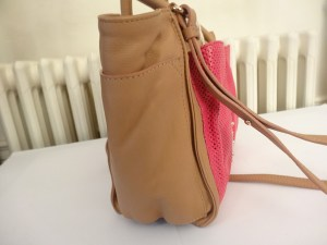 sac cabas nellie see by chloé Nougat et Fuchsia