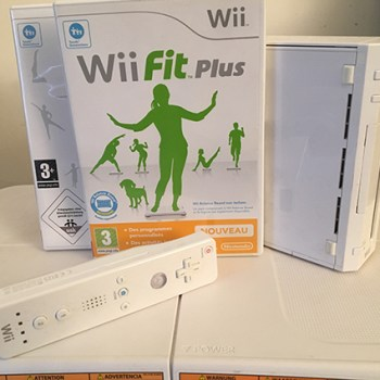 Console Nintendo WII blanche et WII Balance Board