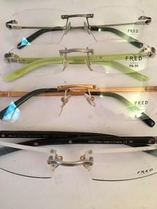 Coffret de montures de lunettes de vue Fred