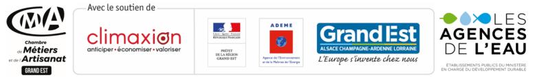 Logos partenaires Plan Régional Développement Durable 2019-2021