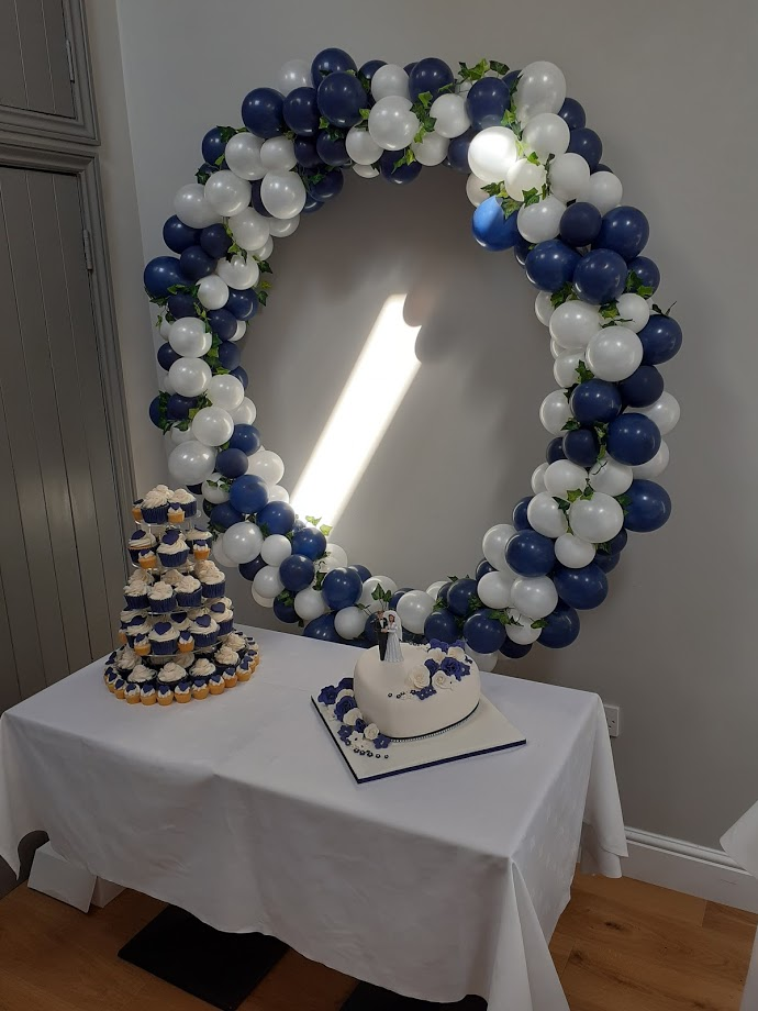 Navy Wedding Decoration