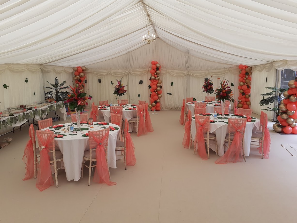 Coral and Gold Theme Wedding- Flowers By Dilly Bespoke Florist