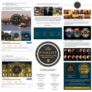Social Media Marketing and Email Marketing, Prestigious Star Awards