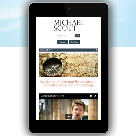 Website Develpoment and Tablet Optimised Websites, Michael Scott