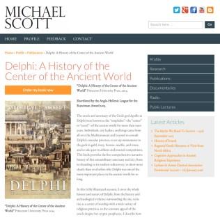 Website Development with Content Management System, Michael Scott