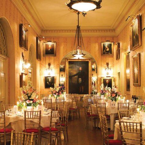 Wedding Reception Venues, Supper Room, Goodwood House, Prestigious Venues
