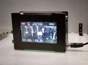 Boxcaster Pro's live streaming device with detailed program monitor built in.