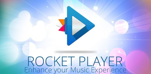 rocket player logo enhance your music experience
