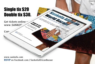 Laurise Sankofa Advertisement