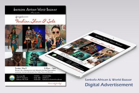 Lori beth, Sankofa digital advert