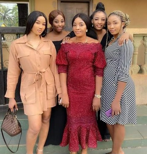Are These Her Daughters Or Sisters? Nigerian Newscaster Share Cute Photo Of Family