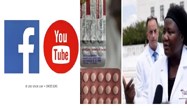 """The Information Is Misleading""-Facebook & YouTube Claims As They Remove Video of Nigerian Doctor claiming Chloroquine Cures COVID-19"