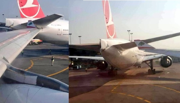 What Were The Pilots Thinking? Two Airplanes Run Into At Lagos Airport