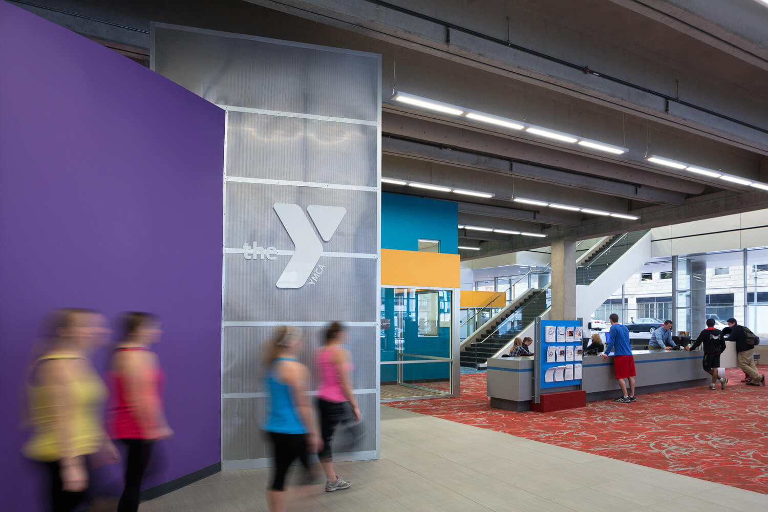 Client / Wellmark YMCA | CMBA Architects