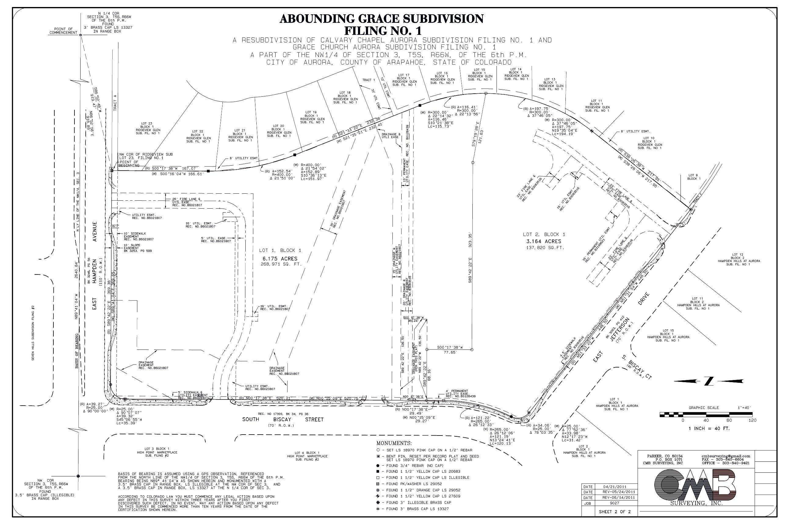 Cmb Land Surveying Parker Coloradoservices