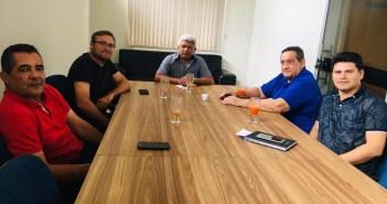Engenheiro e técnico da COSANPA visita Brasil Novo e Senador José Porfirio