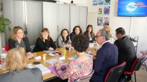 Le conseil d'administration du CMCA, 6 avril 2017