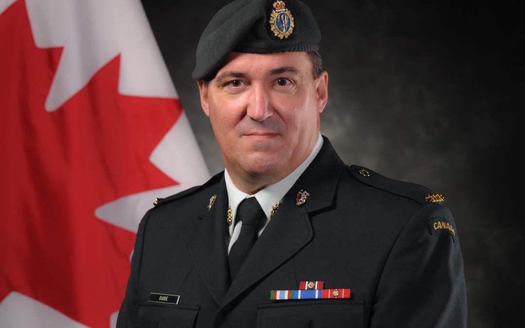 RETIREMENT – CWO MARTIN DUBÉ, CD – 00381-05 (LINEMAN 052)