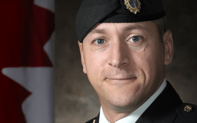 RETIREMENT – LCOL MARTIN PRUD'HOMME, CD – 00341 SIGS