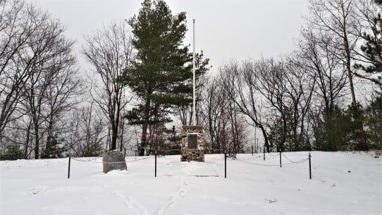 Petawawa Memorial Cairn for Fallen Paratroopers