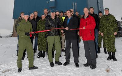 RCAF MARKS A NEW ERA IN RADAR SURVEILLANCE
