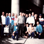 Worcester County Chiefs at Logan Airport leaving for IACP in Albuquerque 1994