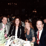 Chief Peter Roddy and his wife Marcia with Chief Glenn Parker and his wife Maryellen