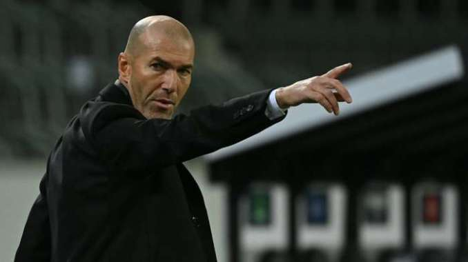 Zinedine Zidane Real Madrid 2020-21