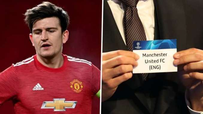 Harry Maguire Manchester United Champions League 2020-21