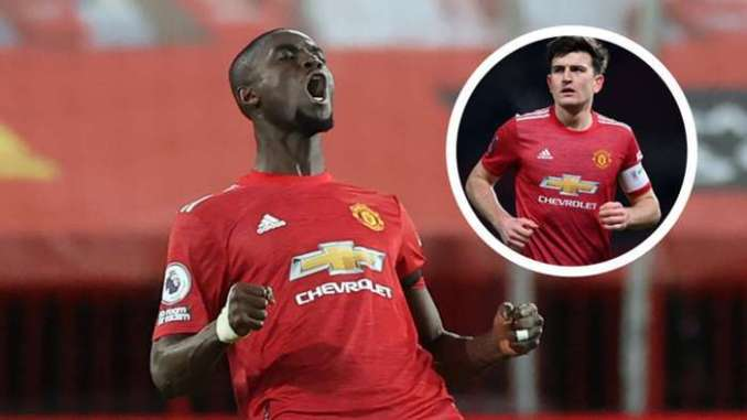 Eric Bailly Harry Maguire