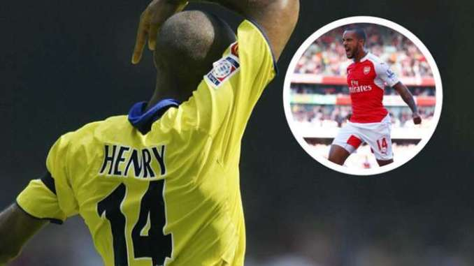 Thierry Henry Theo Walcott