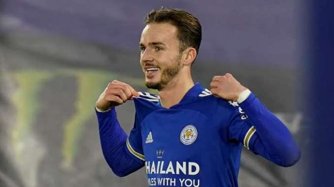 James Maddison Leicester City 2020-21