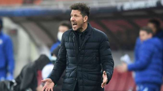 Simeone Atletico Madrid 2021