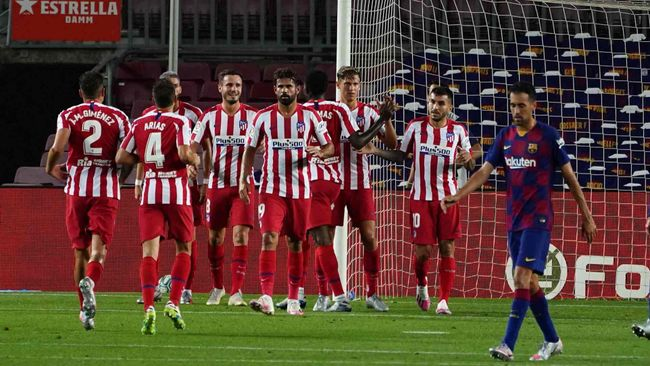 One of the highlights of Atleti's excellent campaign saw them beat Barcelona 1-0 back in November