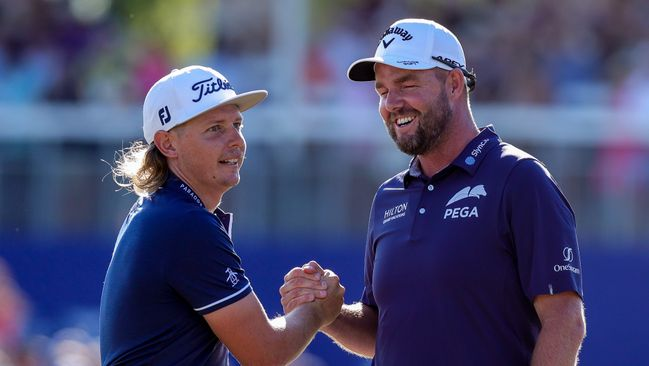 Cameron Smith and Marc Leishman won the Zurich Classic in New Orleans