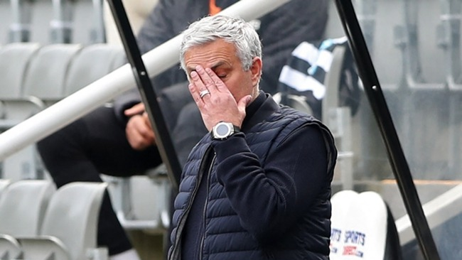 Jose Mourinho has had his problems in defence this season