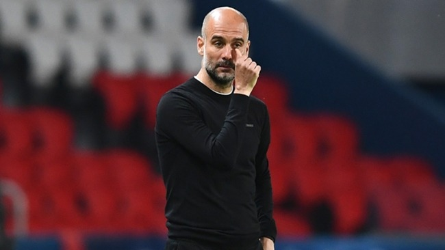 Pep Guardiola felt a more aggressive approach was key for Manchester City in Paris.