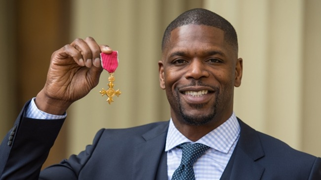 Mark Prince, father of murdered young QPR footballer Kiyan Prince, received an OBE in 2019