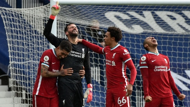Alisson scored a dramatic stoppage-time winner against West Brom