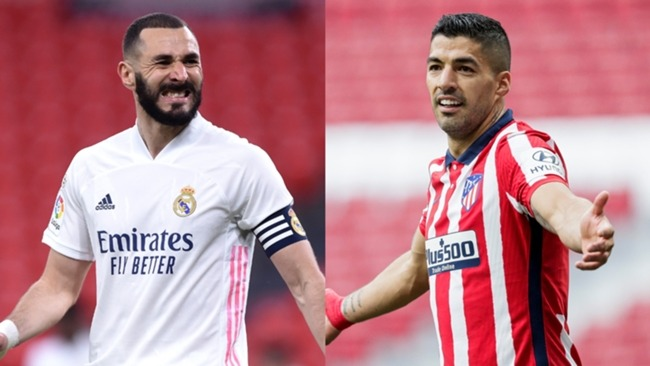 Karim Benzema and Luis Suarez have been key for Real Madrid and Atletico Madrid