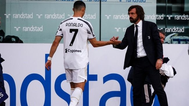 Cristiano Ronaldo was substituted with 20 minutes left of Juventus' win over Inter