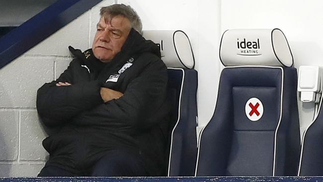 Sam Allardyce does not hold much hope for West Brom