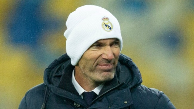 Zinedine Zidane could say farewell to Real Madrid